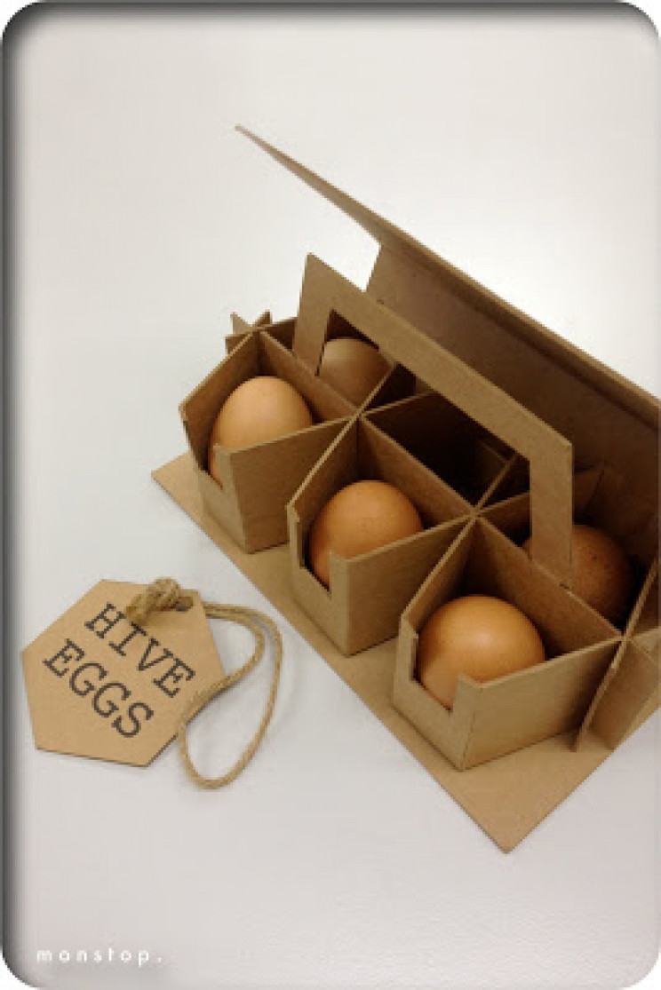 innovative packaging egg hive