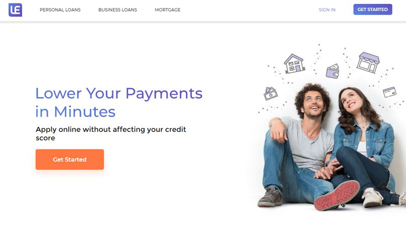 The Loan Exchange Homepage