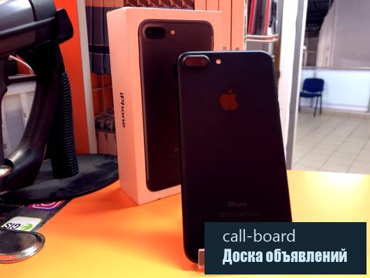 iPhone 7 Plus 32Gb Black 9.6/10 Гарантия